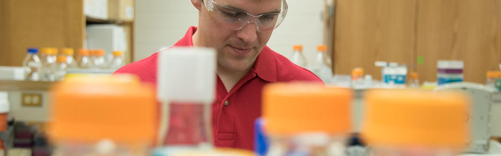 Photo of Biotechnology Training Program trainee Taylor Cook