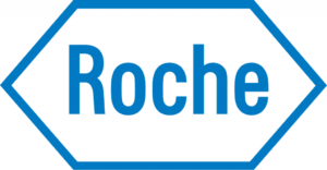 Roche logo. A Biotechnology Training Program alumnus works there.