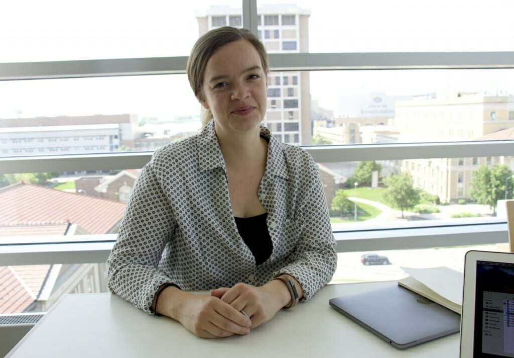 Photo of Naomi Walsh, alumna of the Hull Lab.